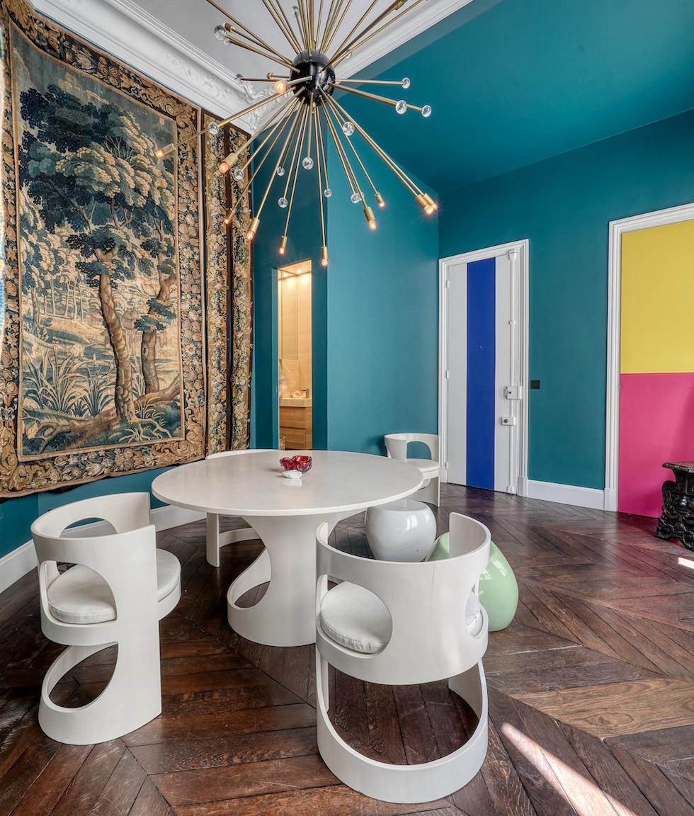 Paris 8ème – Redistribution d'un appartement Haussmannien