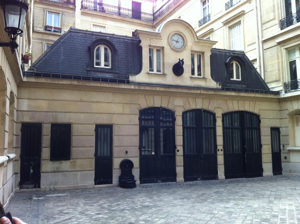 Paris 8ème – Rénovation d'un pavillon de cochers