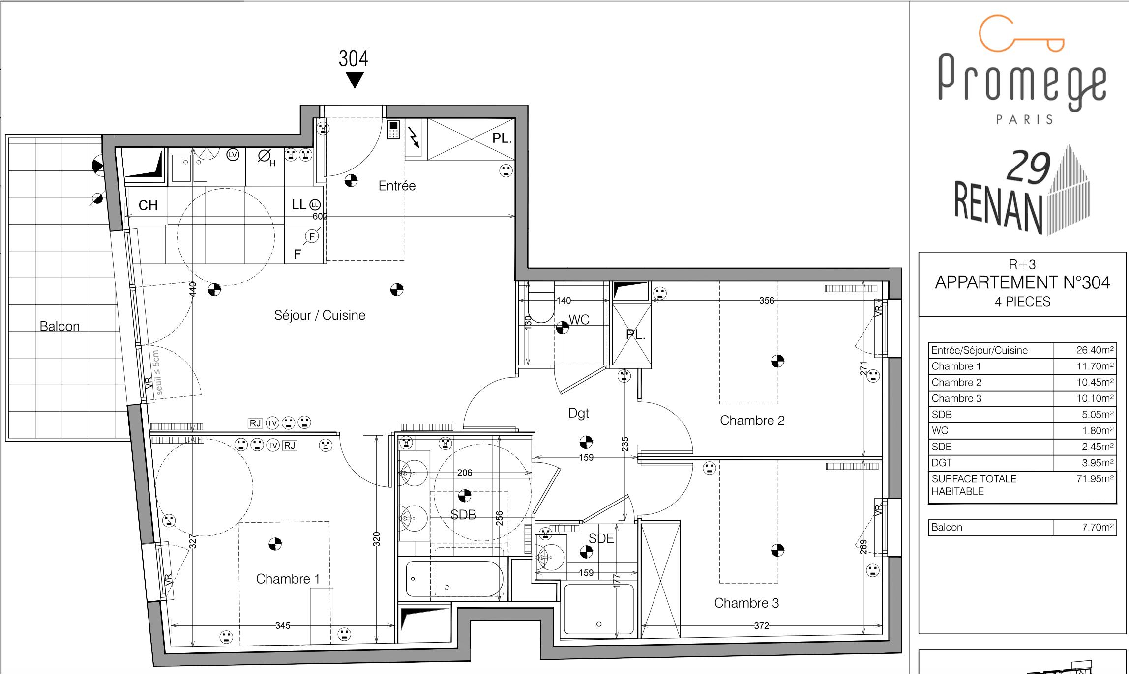 Malakoff – Personnalisation d'un appartement neuf
